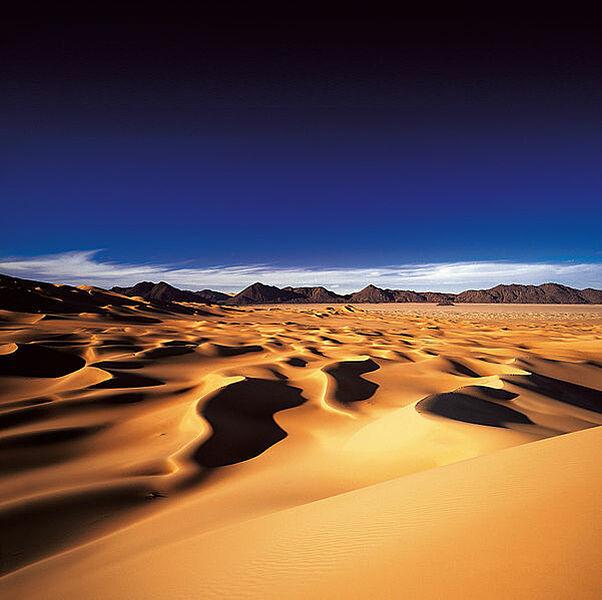 Die Wüste Sahara