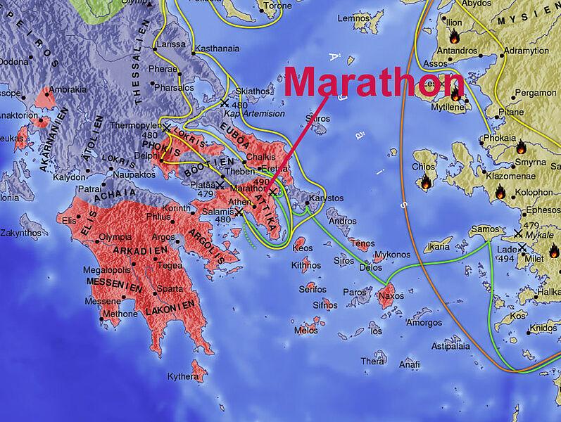 schlacht von marathon