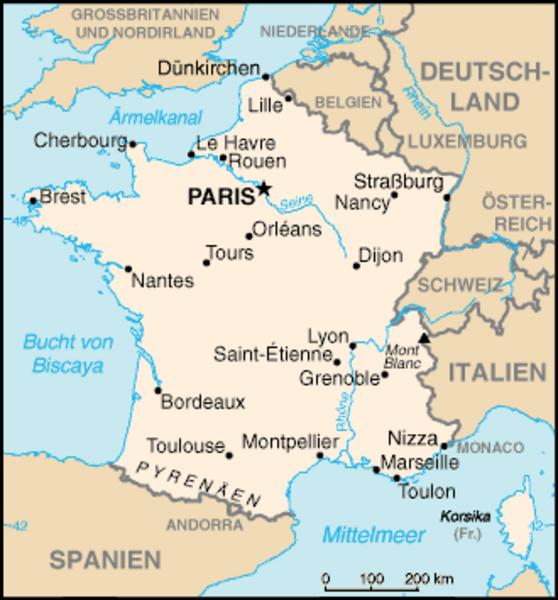 Frankreich Karte Stadte.Kinderzeitmaschine ǀ Das Leben In Paris