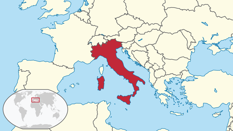 Lage Italien