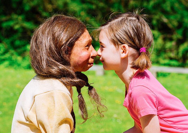 Neandertaler Und Homosapien
