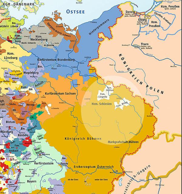 Polen Schlesien Karte.Kinderzeitmaschine ǀ Schlesische Kriege