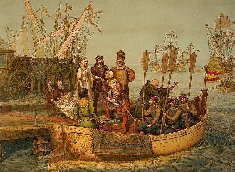 Kolumbus amerika entdeckung | Mikado Zeitreise (2