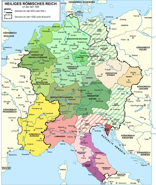 Heiliges Römisches Reich Karte.Kinderzeitmaschine ǀ Was Ist Das Heilige Römische Reich
