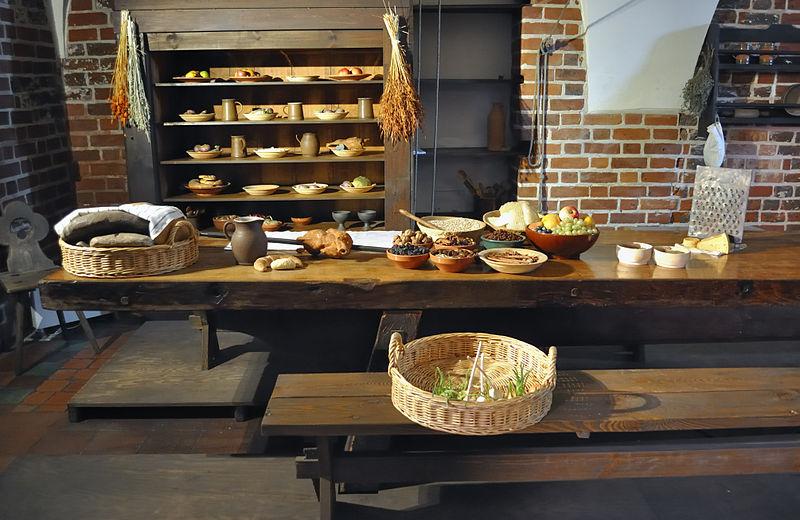 So Sah Es In Einer Mittelalterlichen Küche ...
