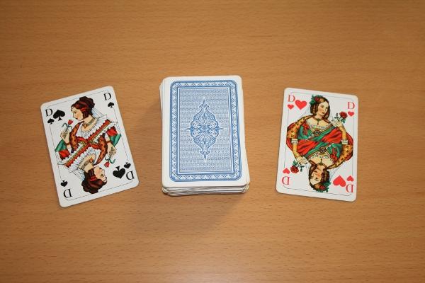 Krieg Kartenspiel
